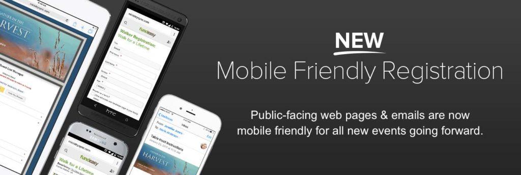 Mobile Friendly Registration