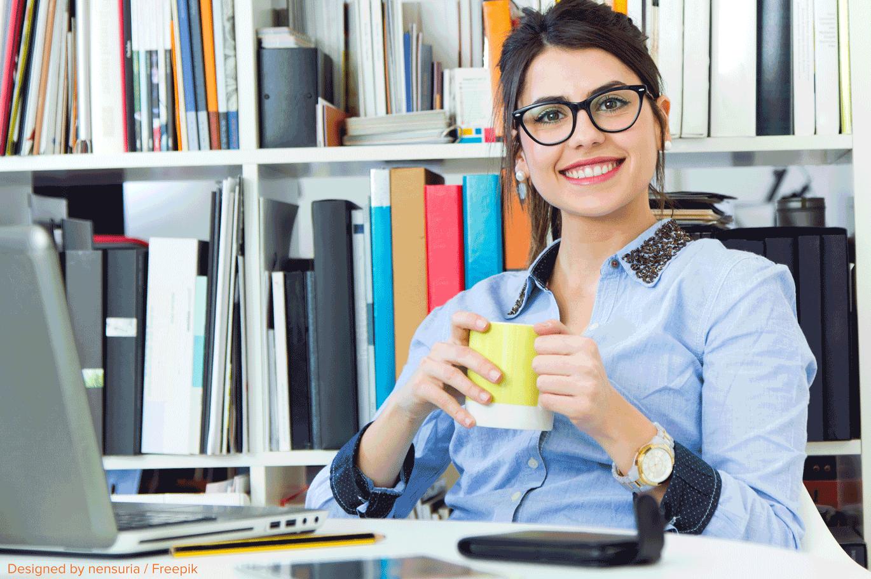 happy-working-woman