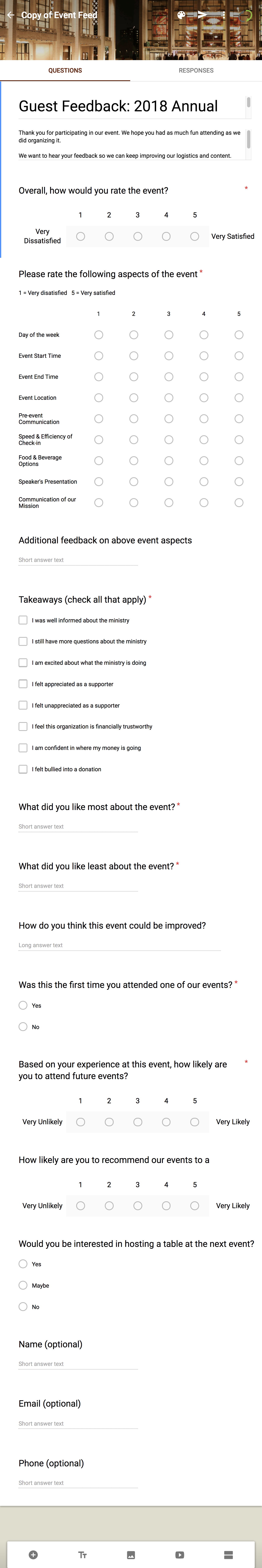 how to make your good event a great one using event surveys